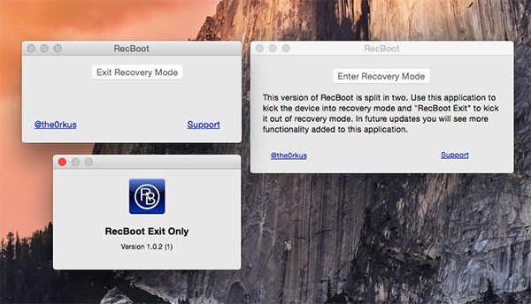 how to open recboot on mac